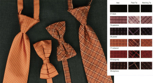 Tie with many variations to pick from