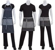 Zippered pockets make this apron line unique!