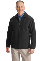 Soft shell men's zip up jacket