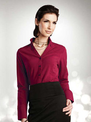 This blouse is perfect for your hostess or front desk employees!