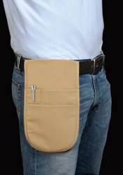 Pouch apron with two pockets