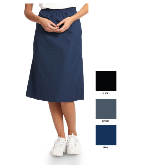 Nursing or housekeeping elastic skirt
