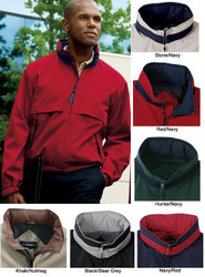 Sporty, comfortable, and functional jacket for your staff or team!