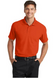 Autumn orange polo