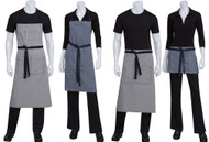 These aprons have the style for all positions in your restaurant!