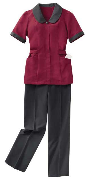 Easy to wear pull up house keeping pants