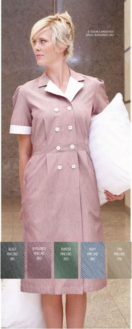 Keep your staff cute while they are housekeeping in this dress!