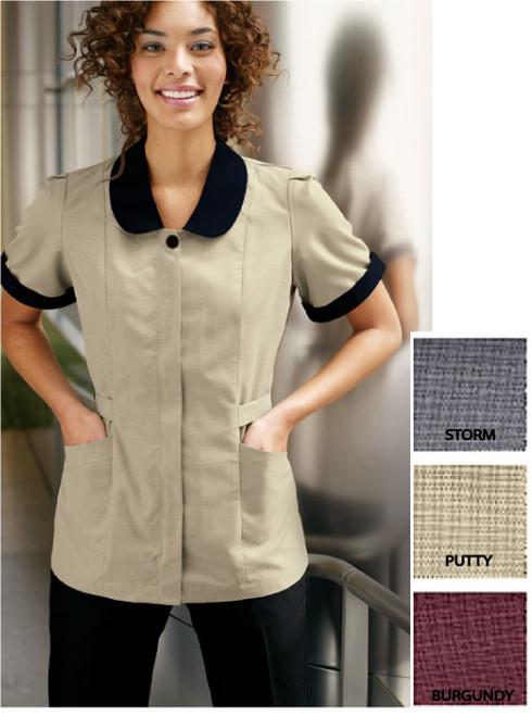 Red Kap Microfiber Housekeeping Tunic