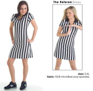 Referee microfiber dress for special events at your sports pub