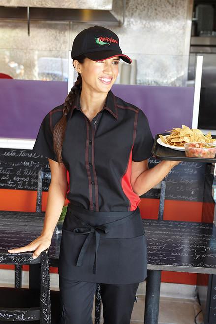 Restaurant uniform shirt with side vents!