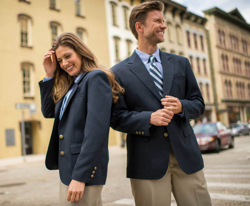 Get your hotel employees looking snazzy in this blazer!