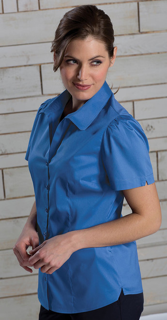 Look your best in this short sleeved uniform shirt!