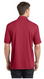 Chili Red stretch spandex polo shirt