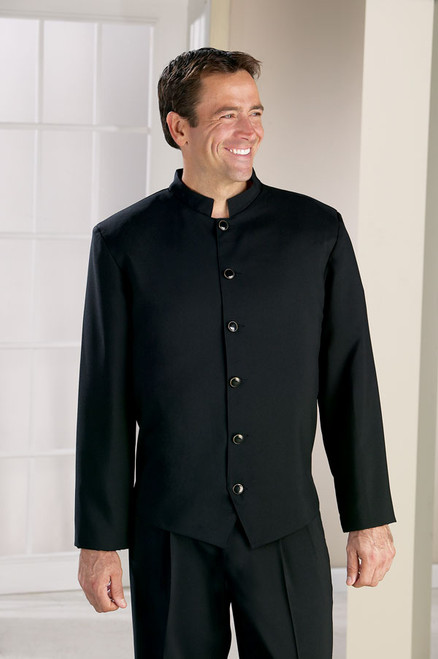 Black steward jacket great for bellmen!