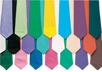 Straight ties in many different colors!