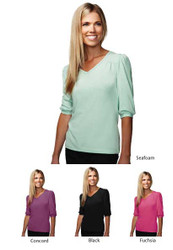 Front desk blouse in different colors