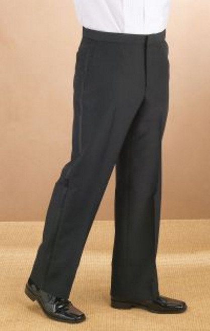Tuxedo pants your fine dining waiters must have.
