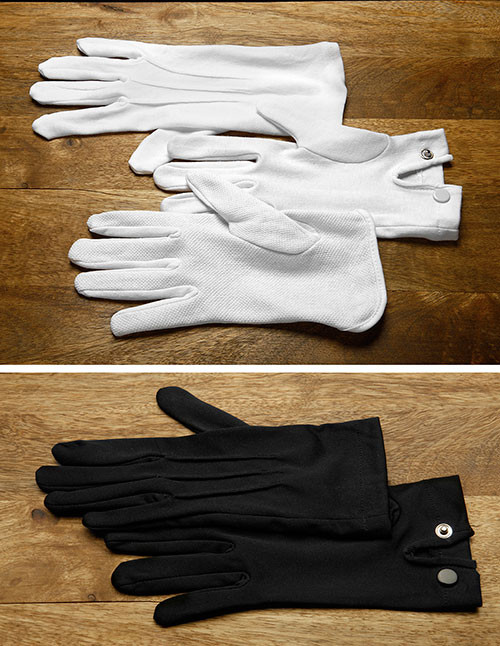 Formal events call for uniform gloves!
