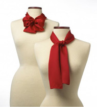 Get a more formal look with our uniform scarves.