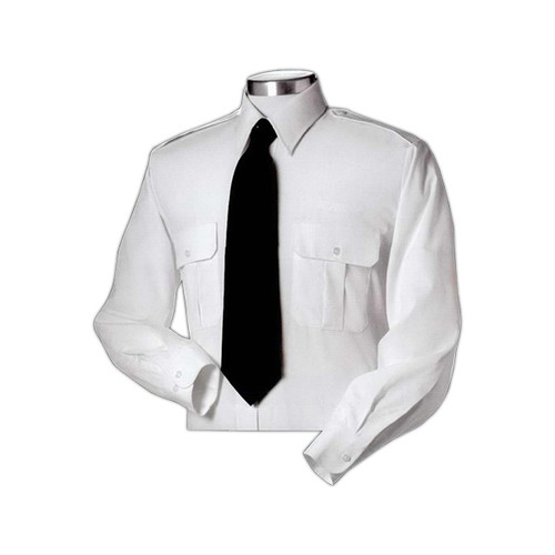 Pilot shirt with adjustable features