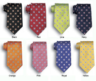Stain resistant ties for restaurants in many colors