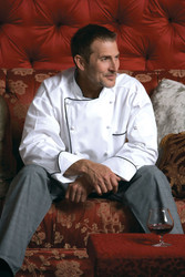 Check out the features on this executive chef coat!
