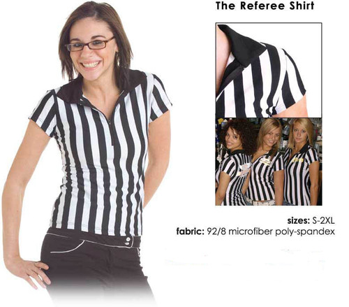Cute referee shirt for a sports bar waitress