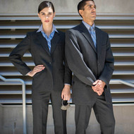 Women's Pinstripe Suit Pants or Skirt | Waitstuff Uniforms
