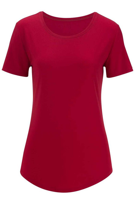 Women's Red Uniform Blouse