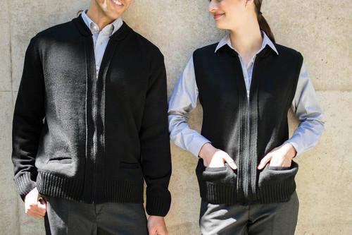 Zip Employee Sweater