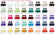 Uniform Bow Ties in a Rainbow of Colors