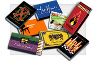 Show off your company logo on these match boxes