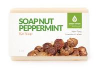 Soap Nut Peppermint Bar Soap, 5 ounces