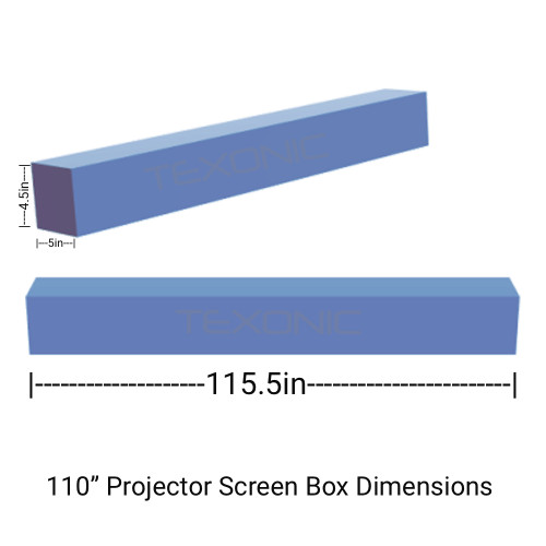 110 Electric Projection Screen