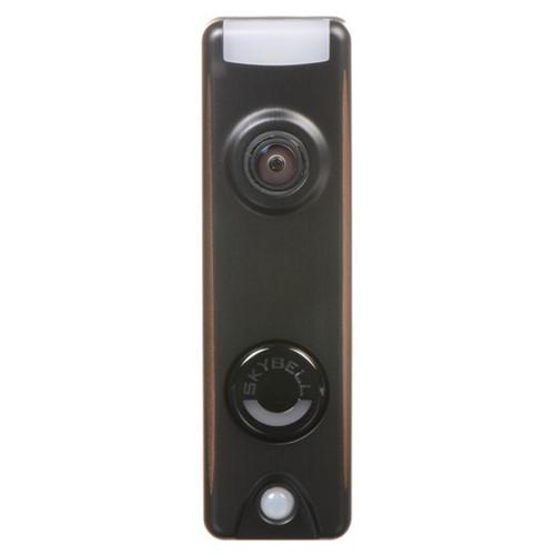 SkyBell Trim 1080p Wi-Fi Video Doorbell - Bronze (V-DBCAM)
