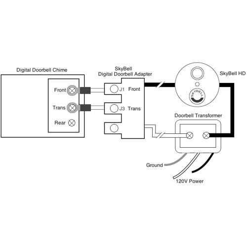 Digital Doorbell Adapter__86026.1503351504?c\=2 skybell doorbell chime & amazon com skybell hd wifi doorbell skybell wiring diagram at eliteediting.co