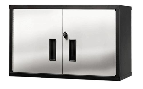 Short Wall Cabinet, Stainless Steel Door