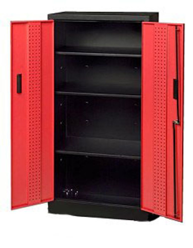 Storage Locker, Red Doors