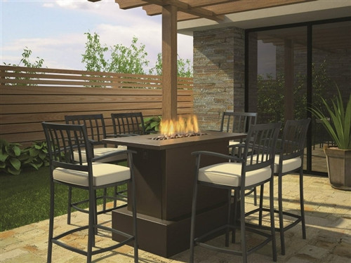 Key west bar height fire table urban concepts modern hearth outdoor key west bar height fire table watchthetrailerfo