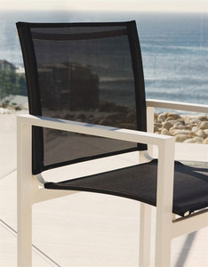 Harbour Outdoor Piano Chair_Black