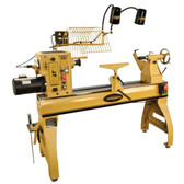 "Powermatic  Powermatic 4224B 24"" Wood Lathe, 3HP 1/3PH 220V"