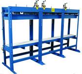 JLT Mini Pod Press 12 in Wide x 126 in Long, Upper & Lower Steel Platen (3 Section)