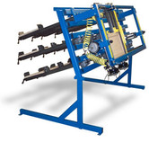 JLT 8 in Miter Buddy System Includes: (18) 40 in Clamps and 26 in x 62 in Capacity Pneumatic Single Miter Door Clamp with Dial Control System