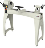 "Jet Woodworking  Jet 1440 14"" x 40"" Benchtop Wood Lathe with Legs"