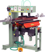 "Conquest 2-46 Dual 23 Spindle Line Boring Machine with 4 Flip Stops & 132"" Fence Capacity"