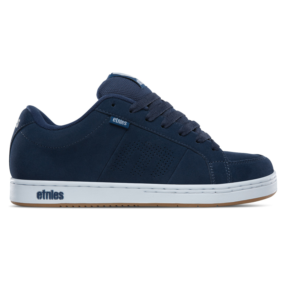2c48e9610d Etnies Shoes Kingpin Navy White Gum - TGM Skateboards