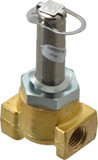 Parker Skinner 04F20C2114BDF 2-way Direct Acting 1/4 Inch Normally Closed Solenoid Valve 100 PSI Brass