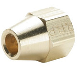 Parker 41FS-4 Short Extruded Nut 45° Flare 1/4 Tube OD Brass