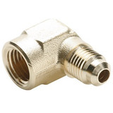 Parker 150F-4-2 Forged 90° Elbow 1/4 Tube OD X 1/8 NPTF Brass