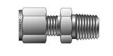Parker Instrumentation 2MSC4N-B-C3 Compression Male Connector A-LOK 1/8 Tube X 1/4 NPT Brass